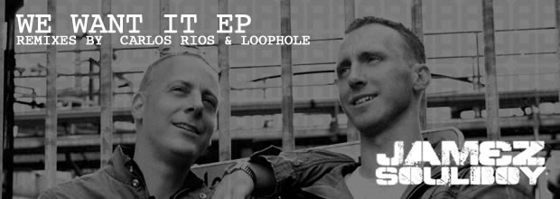 RR1105 | We Want It EP, a crossing between techno and progressive!