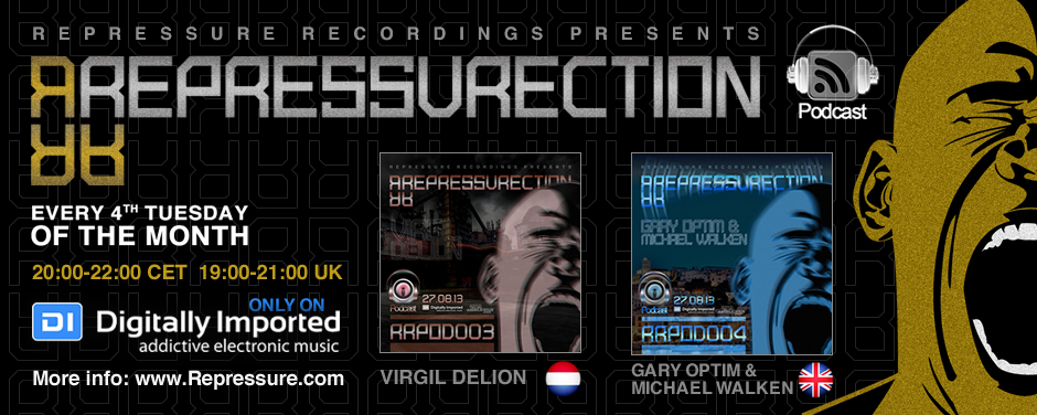 "Official Repressure podcast ""Repressurection"" on DI.fm"